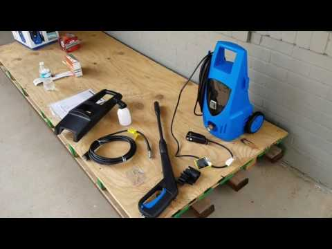 Harborfreight Pressure Washer Review