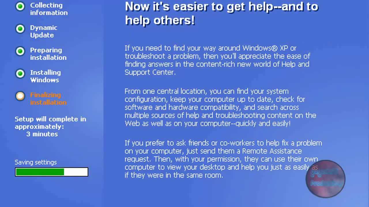 How to Install Windows XP - YouTube