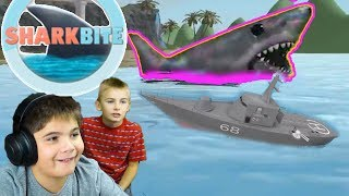 ROBLOX Shark Bite Megalodon with Hobbykids