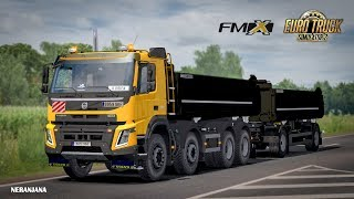"[""euro truck simulator 2"", ""Volvo FMX Kipper Rework by Mistersix 1.1 + Ownable Kipper Trailer [ETS2 v1.36]"", ""Volvo FMX Kipper Rework by Mistersix 1.1"", ""Volvo FMX Kipper Rework"", ""FMX Kipper Rework by Mistersix 1.1"", ""ETS 2 Mod | Volvo FMX Kipper Rework"