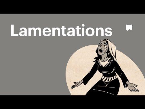 Read Scripture: Lamentations