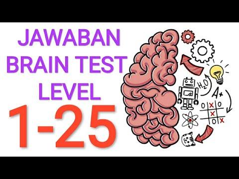 Jawaban BRAIN TEST : Asah Otak Kocak Level 1 - 25 - YouTube
