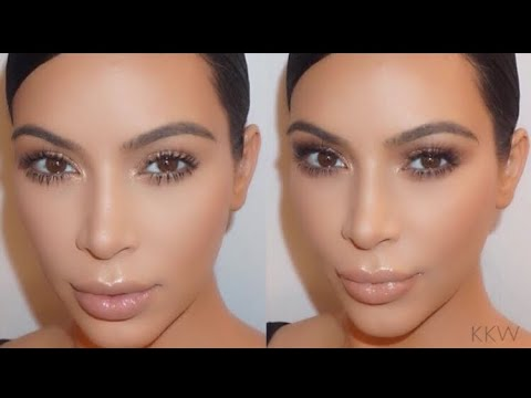 [FULL VIDEO] Kim Kardashian | Soft Bronze Smokey Eyes By Ariel Tejada [2015]