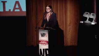 Debra Messing's speech at the WP Gala!