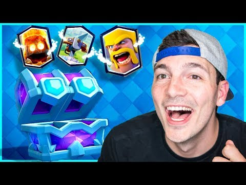 PLEASE... BE A GOOD DECK!! (Clash Royale Draft Chest Deck Nickatnyte)