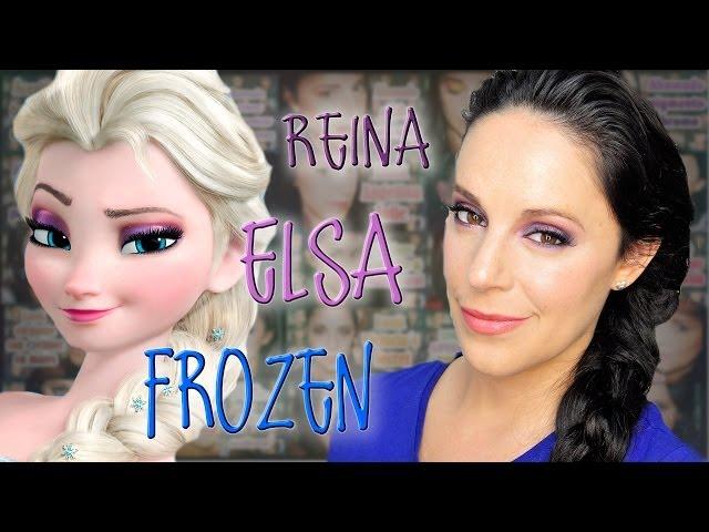 La Trenza De Elsa De Frozen El Peinado Que Arrasa En Nochevieja