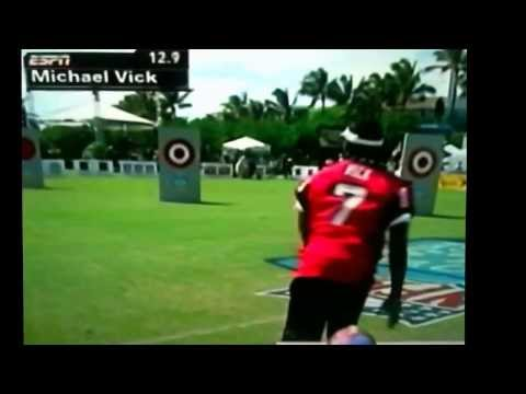 Michael Vick Pro Bowl Competition 2006