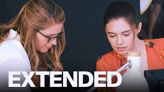 Nicole Maines Talks Becoming Television's First Transgender Superhero | EXTENDED thumbnail