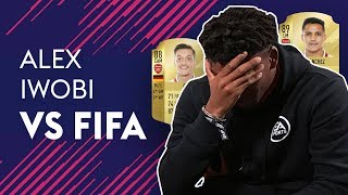 ALEX IWOBI VS FIFA 18! 🔥🔥🔥