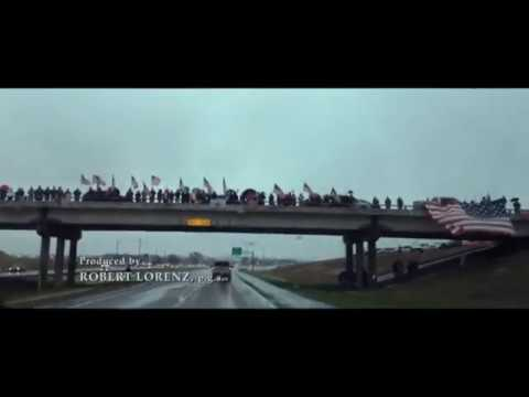 American Sniper - Chris Kyle Funeral Procession & Tribute