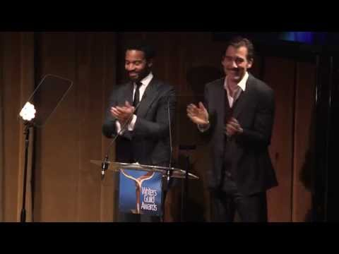 2015 Writers Guild Awards New York Ceremony (Clive Owen, Andre Holland)