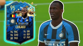 ... , will you be completing the sbc to get this item? 200k for 95 tots lukaku worth it?@kiero...