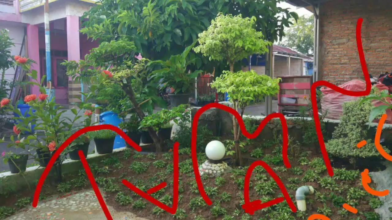 Taman Mini Minimalis Type Rumah 36 Depan Rumah YouTube