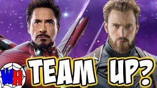 Will Captain America and Tony Stark TEAM UP In Infinity War?   Webhead