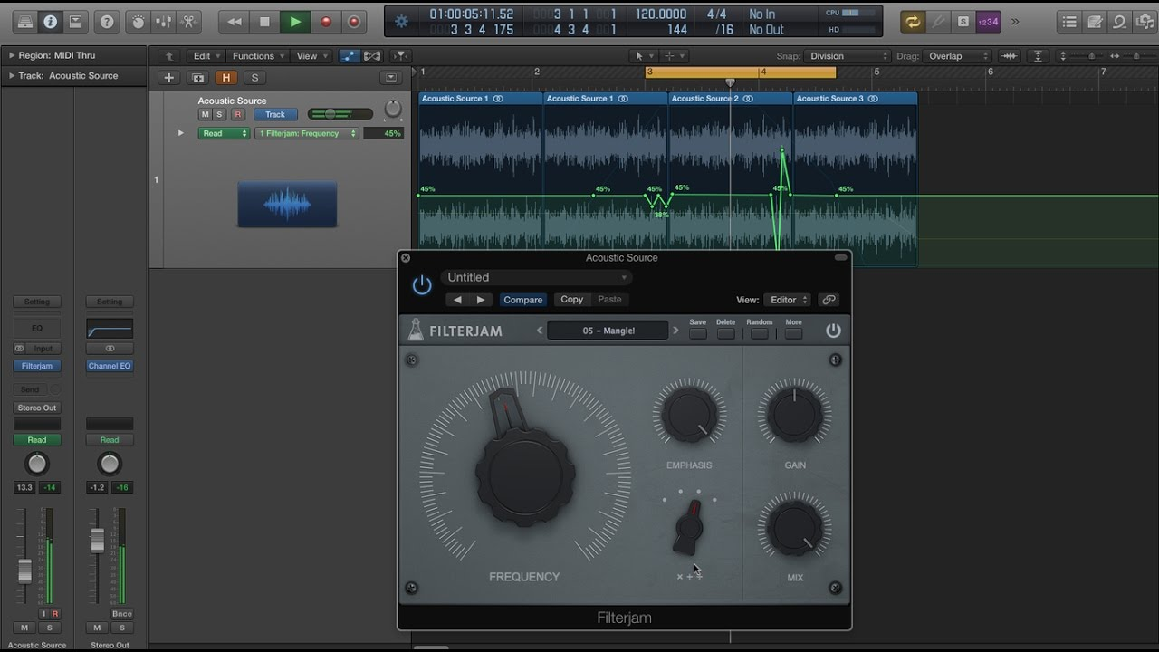 Filterjam - Free Plugin VST, AU, AAX - AudioThing