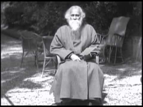 Rabindranath Tagore's own voice