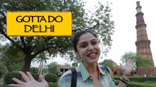 Welcome To Delhi || Qutub Minar