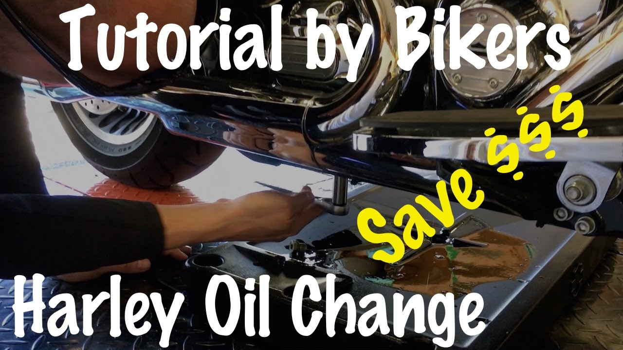 Changing The Oil In A Harley Davidson Motorcycle