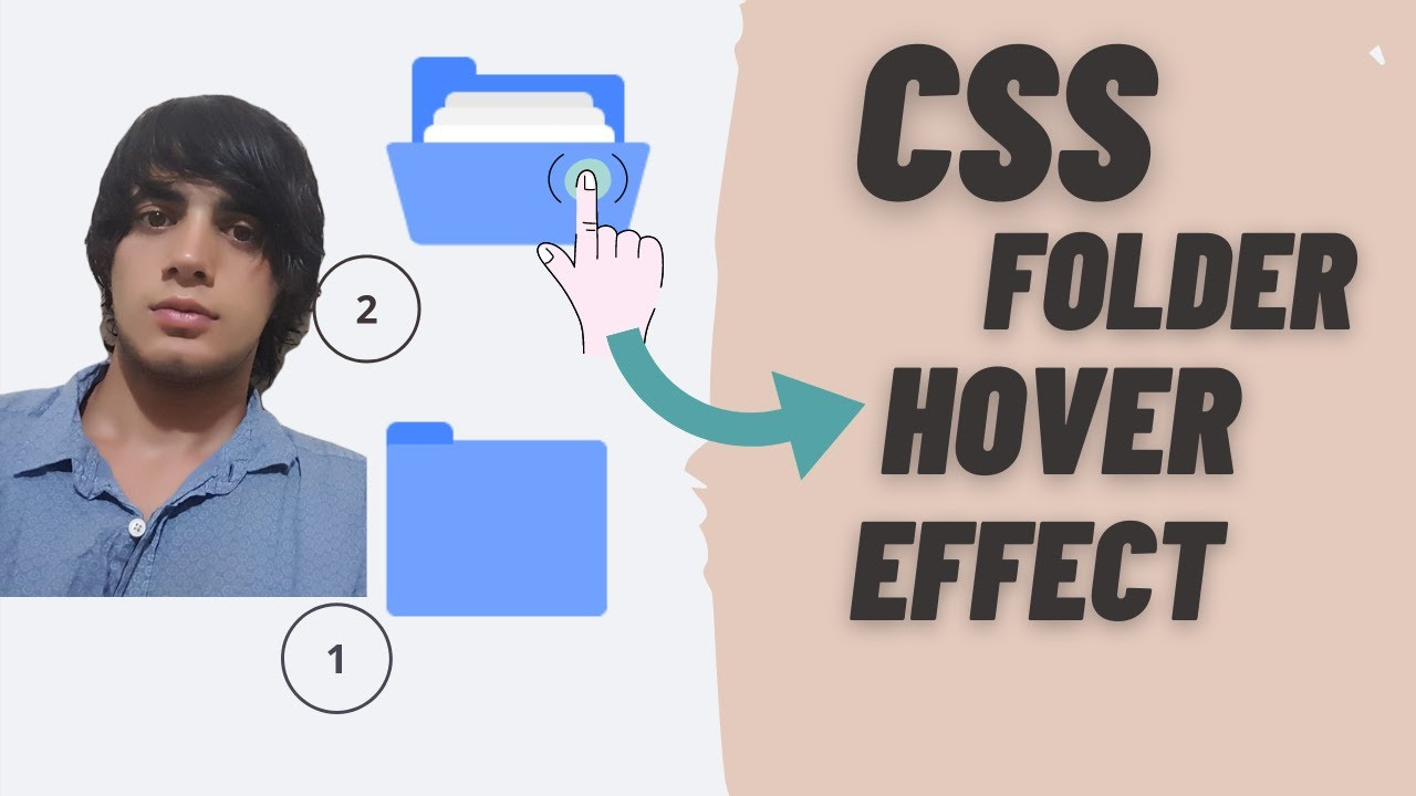 CSS Folder and Hover Effect | UI + Code