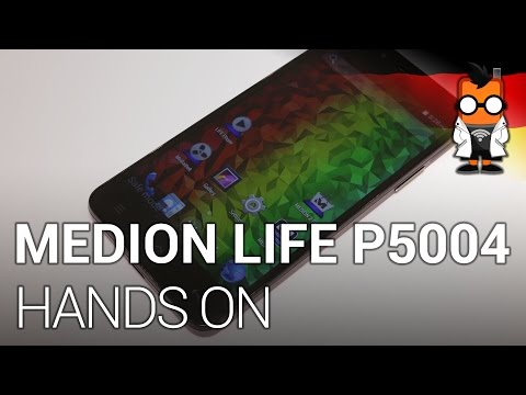Medion Life P5004 Octacore-Smartphone im Hands on [Deutsch]