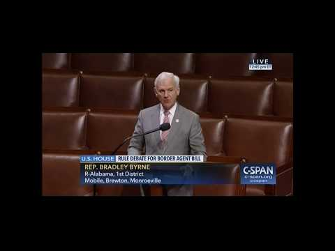 Byrne Votes to Boost Border Security Agents