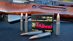 GEL TEST:  7.62 x 39mm TULA 122 gr FMJ