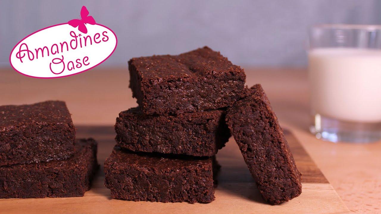 Best Brownies Sehr Schokoladig Saftig Fudgy Grundrezept