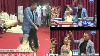 ANGEL OBINIM DANCE SHAKU SHAKU WITH OBAAPA CHRISTY