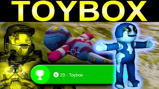 Halo 2 Anniversary TOY Guide - All 8 Toy Locations (Toybox Achievement)