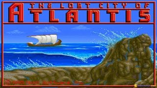 The Lost City of Atlantis gameplay (PC Game, 1995)