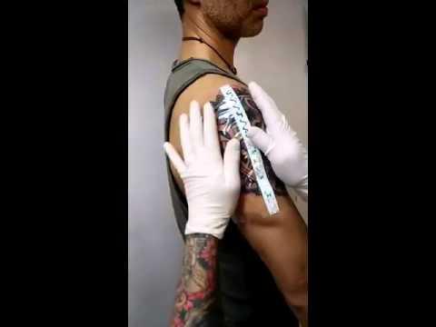 Tattoo Film Tegaderm By 3m Youtube