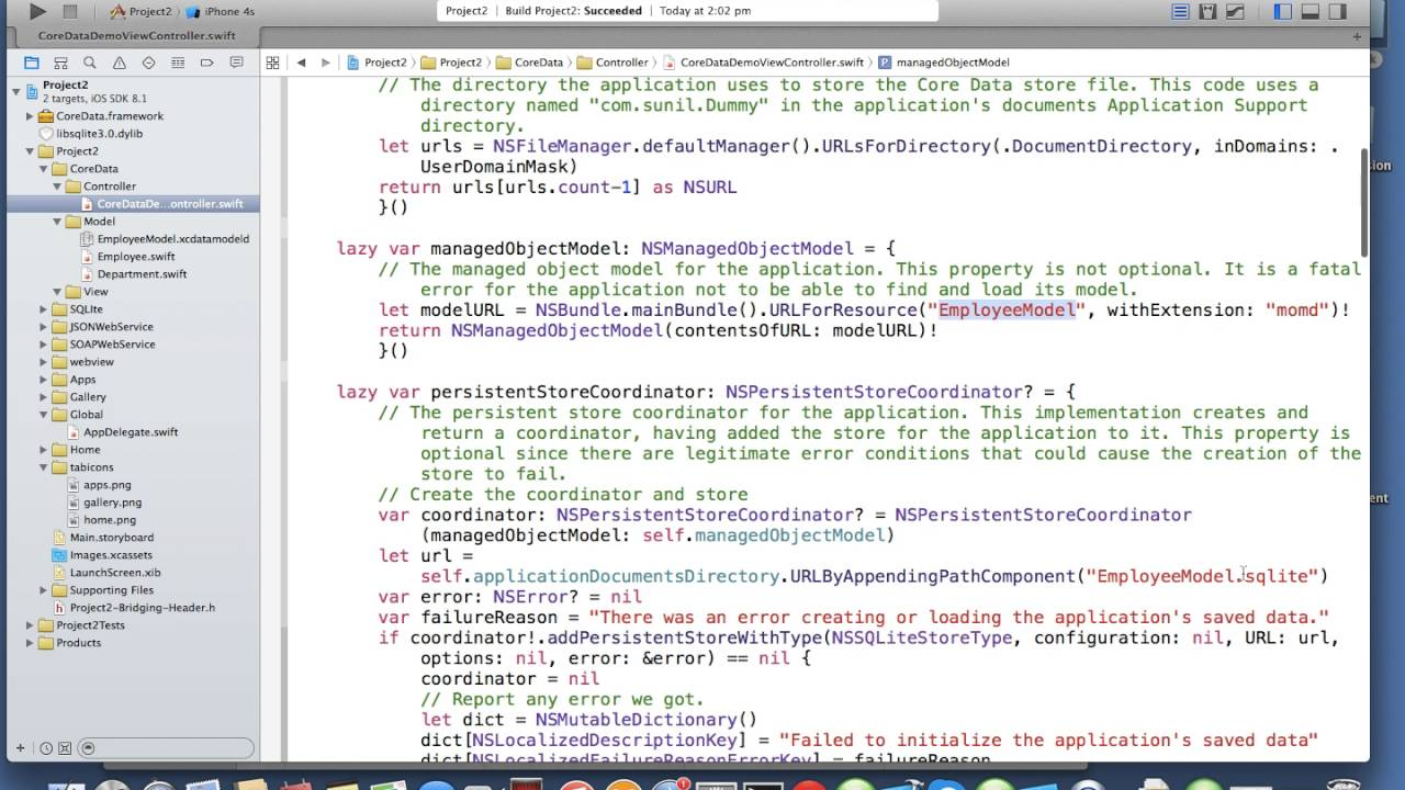 iOS Swift core data stack   Nimap Infotech - Tutorial 101