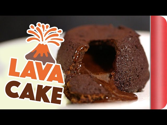 The EASIEST 15 Minute Chocolate Lava Cake