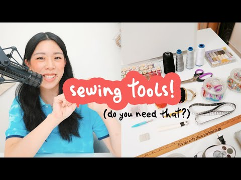 sewing supplies you need to start | WITHWENDY