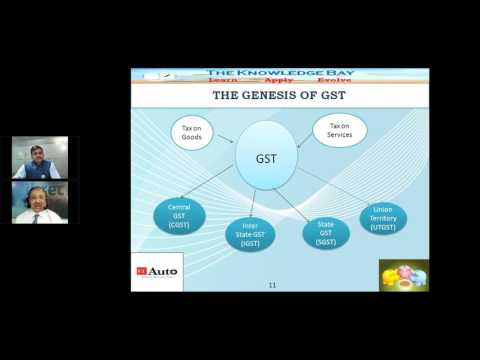 ETAUTO WEBINAR - Untangling the Operational Concerns Around Goods & Service Tax