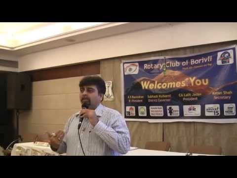DS Chetan Desai's Presentation - Rotary Youth Exchange