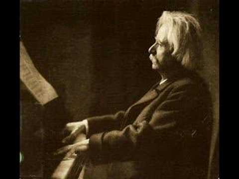 Grieg plays Grieg To Spring (1903)