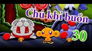 Game chú khỉ buồn 30   Video hướng dẫn chơi game 24H
