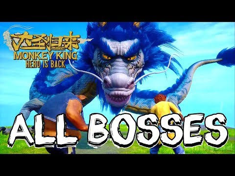 Monkey King: Hero is Back All Bosses (PS4)
