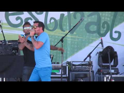 Boise  Music Festival 2014 LMFAO Sky Blue (Dark Horse)