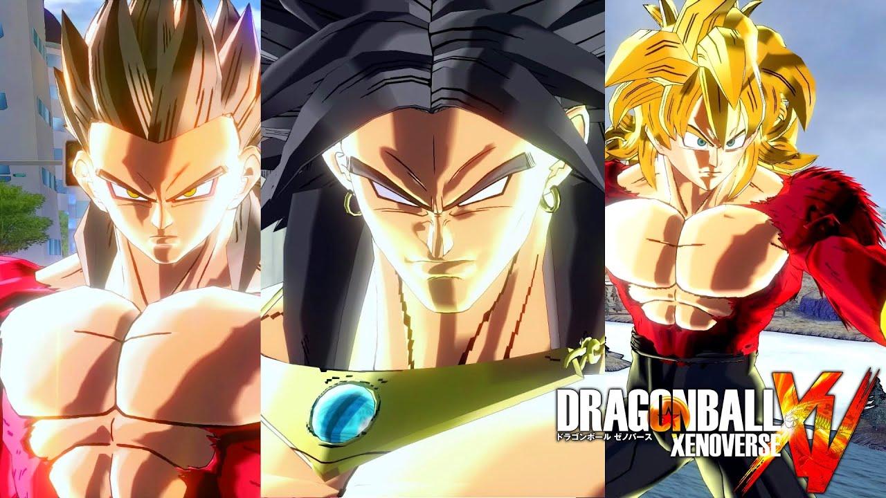 Pc dragon ball xenoverse mods ssj4 broly ssj4 - Dragon ball xenoverse ss4 vegeta ...