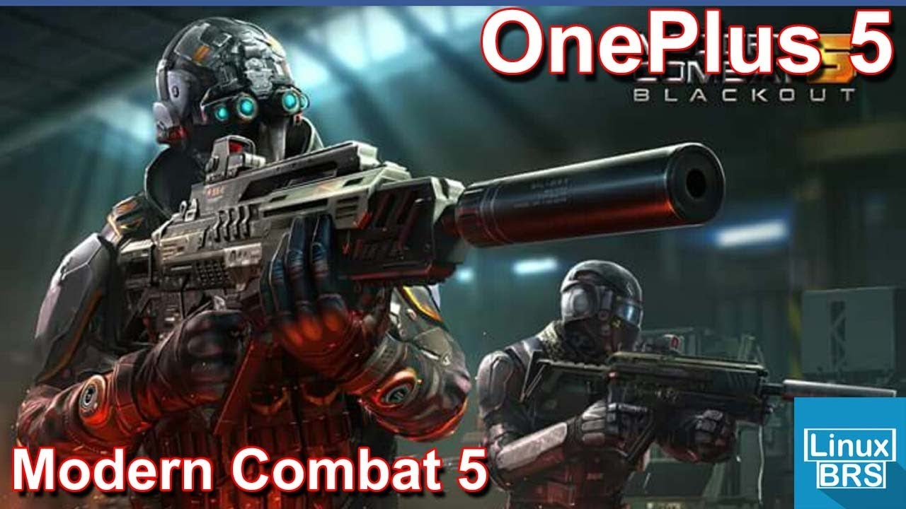 Gameplay Android - Modern Combat 5 - OnePlus 5