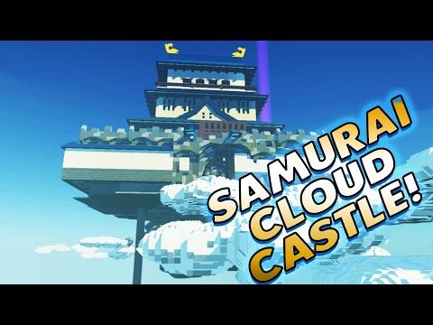 Lego Worlds | SAMURAI CLOUD CASTLE! | Lego Worlds Gameplay & Playthrough