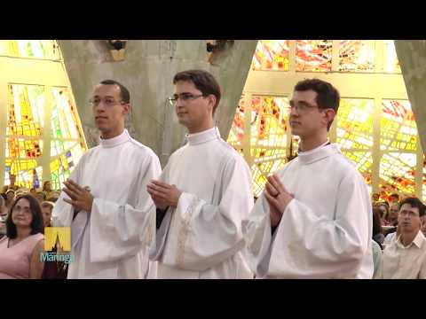 Ordenação Diaconal Rafael da Silva, Hiago Igor e João Paulo Penco