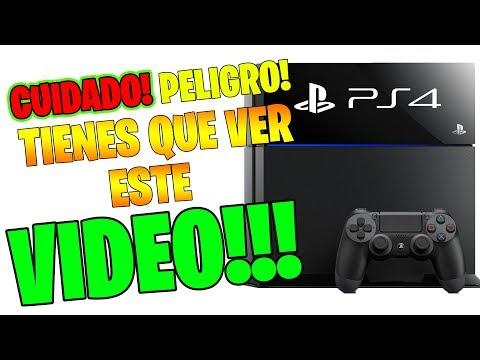 ALERTA!!! CUIDADO!! TE ROMPEN LA PLAYSTATION 4! SOLUCION!!!