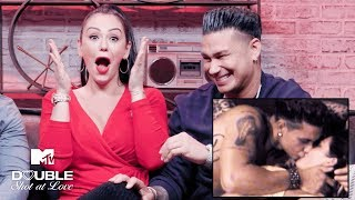 JWoww & Pauly D's 'Jersey Shore' Hookup 💕 Romantic Reactions | Double Shot at Love