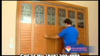 Wood Shutters And Wooden Shutters By Danmer Custom Shutters Orange County - Orange County Shutters