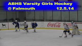 Acton Boxborough Girls Varsity Ice Hockey at Falmouth 12/5/14