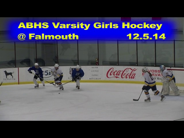 Acton Boxborough Girls Varsity Ice Hockey at Falmouth 12/5/14