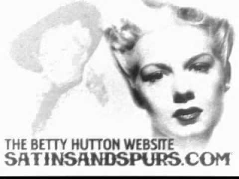 Betty Hutton - Blue Skies (1945)